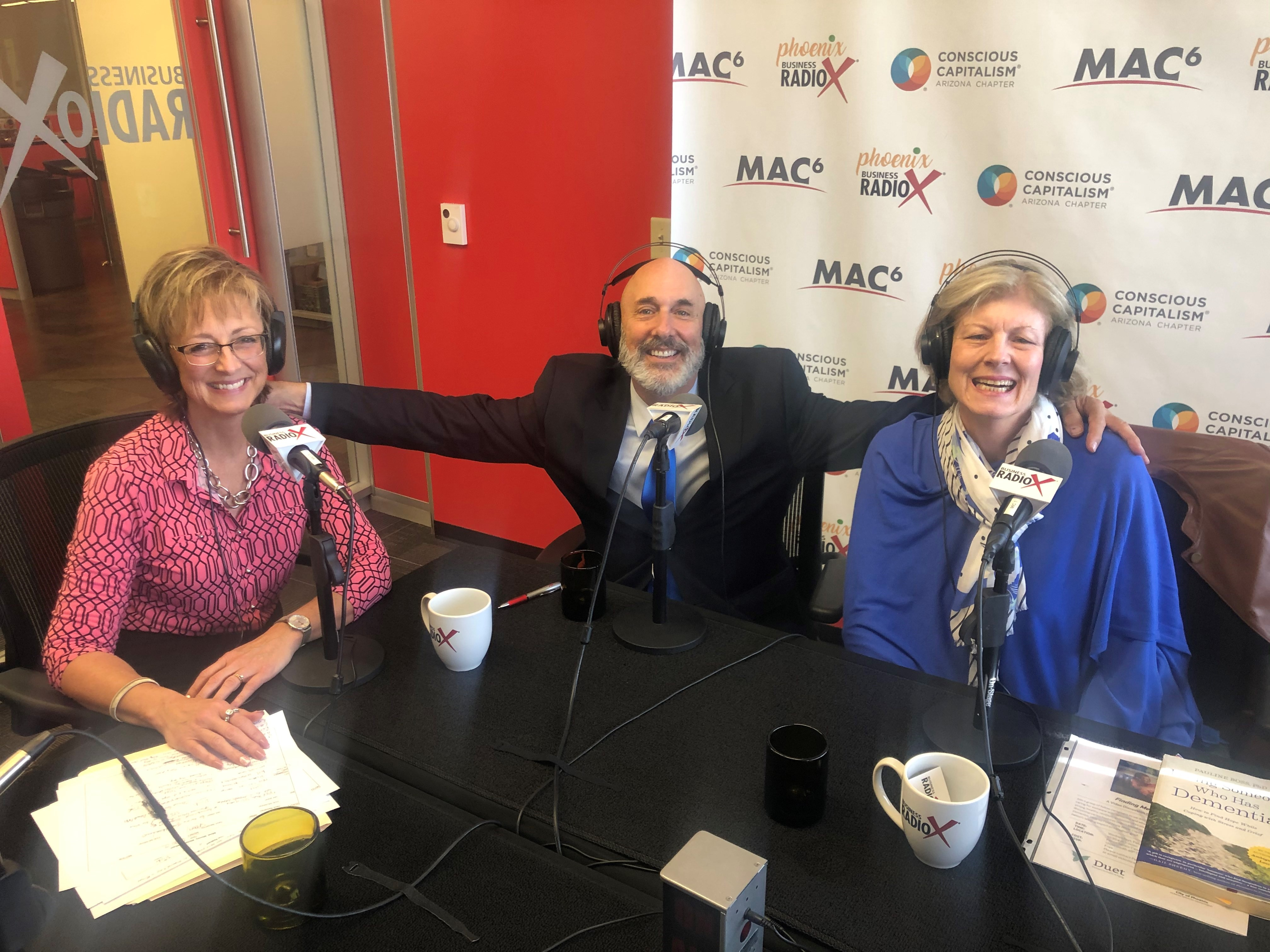 MMM Podcast Dave Nassaney with The Caregiver's Caregiver and Vicki McAllister with SAGA