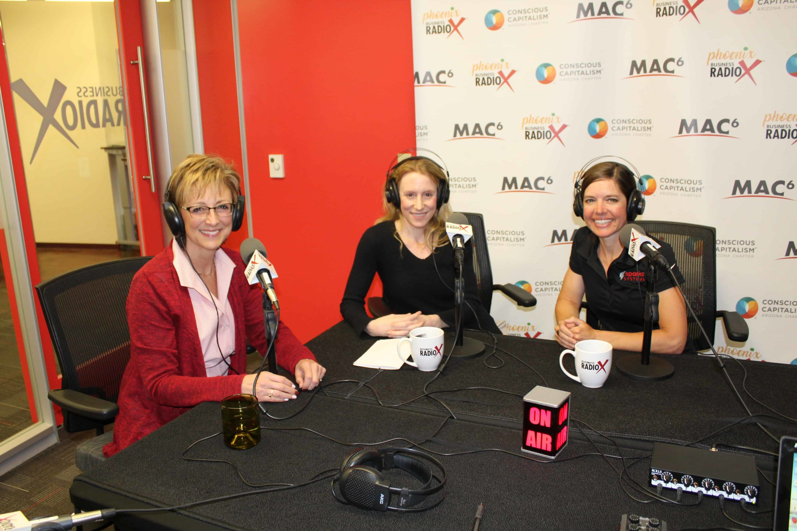 MMM Podcast Anna Spark and Chrissy Barth on Mind, Money, Motion with Marie Burns