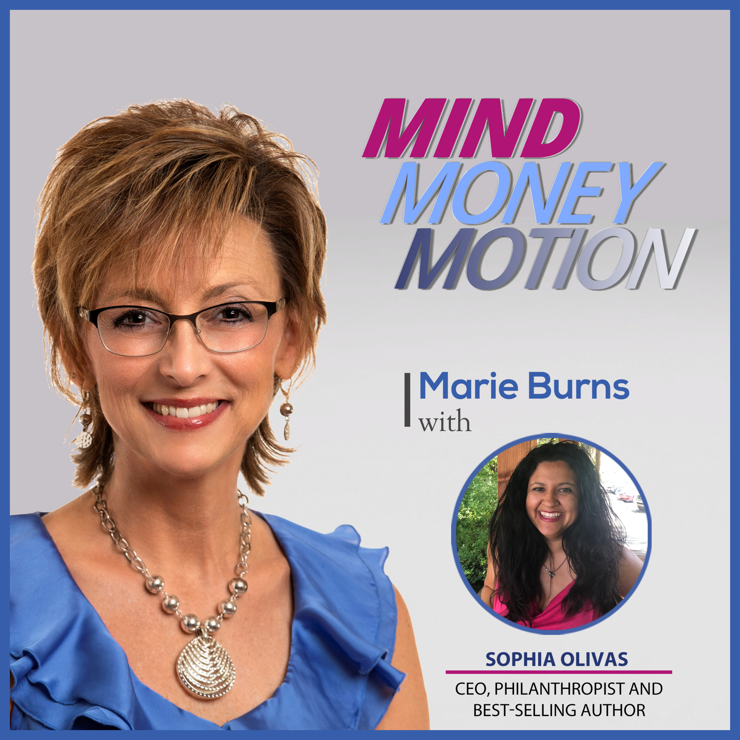 Sophia Olivas podcast graphic