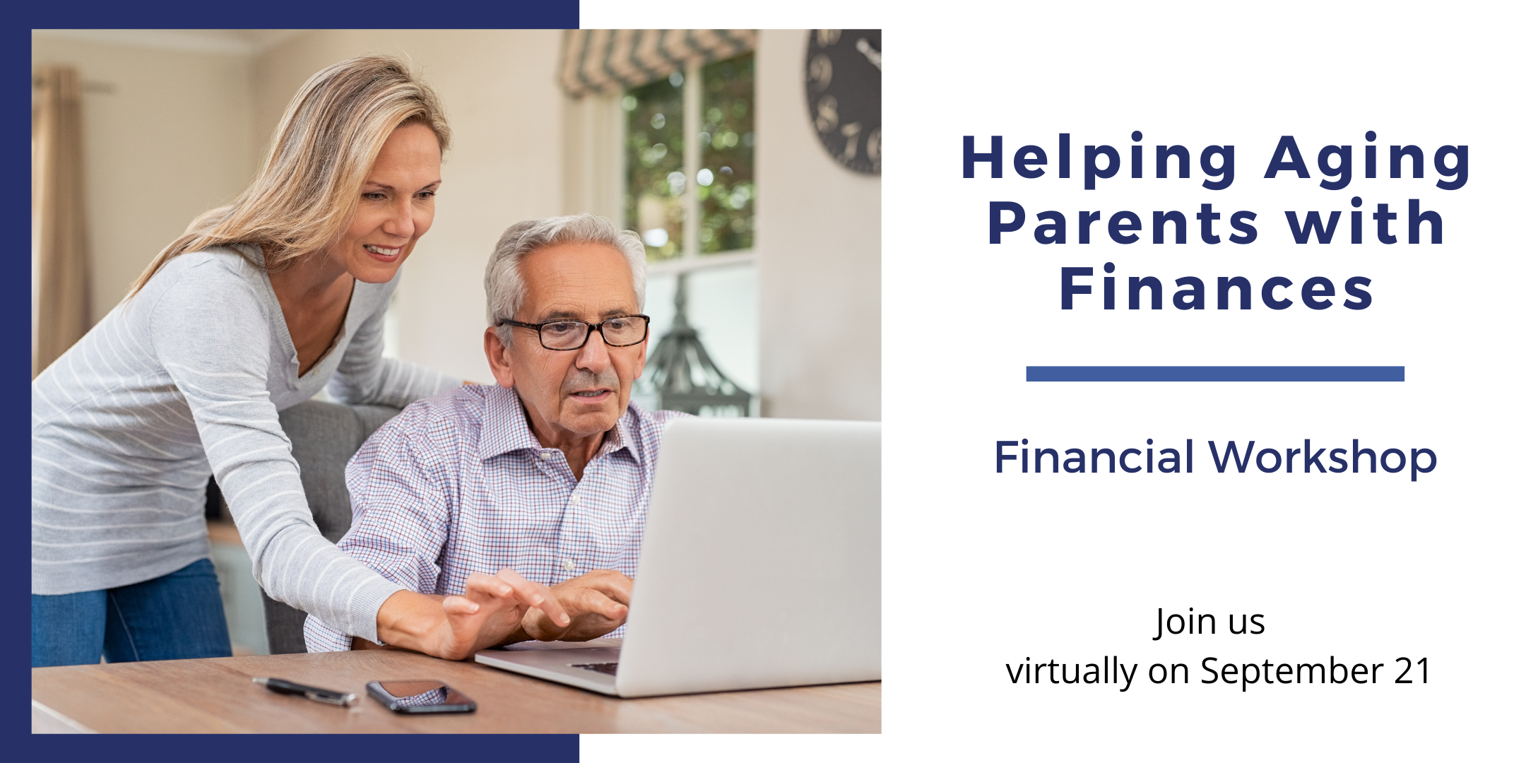 Helping Aging Parents with Their Finances Workshop